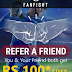 (Maha Loot) FanFight Fantasy Cricket - Get Rs.100 On Signup + Rs.100 Per Refer (Same as Dream11)