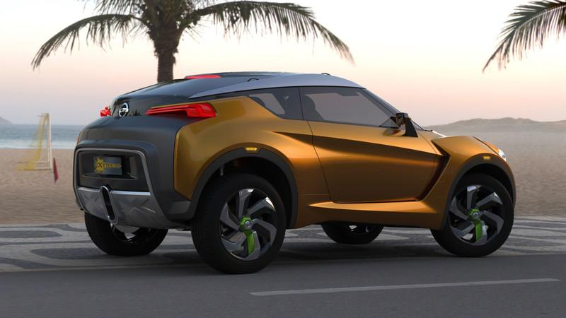 Nissan Extrem New Concept Sports Car Gets Tough On The Streets