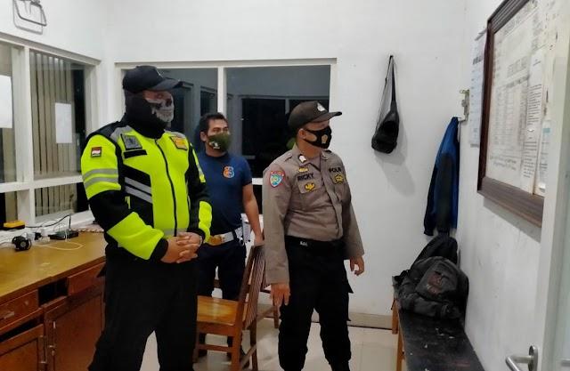 Patroli Malam, Pospol Mintin Sasar Naga Buana
