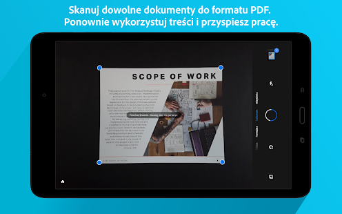 Adobe Scan: Skaner PDF, OCR Screenshot
