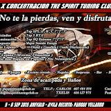 X The Spirit Tuning Club - Arevalo (Avila) 5/6 Septiembre 2015
