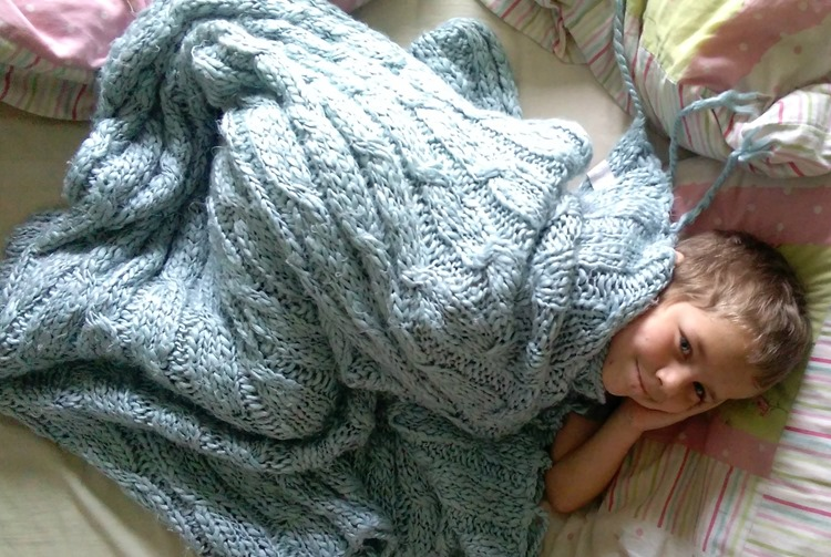 Ethan snuggles