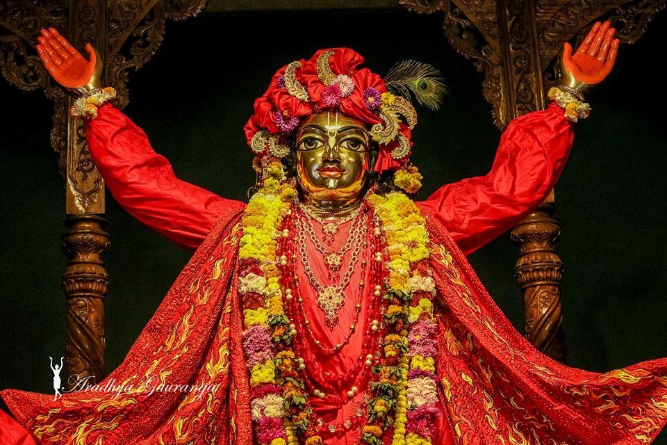 ISKCON Mayapur Deity Darshan 06 Jan 2015 (30)