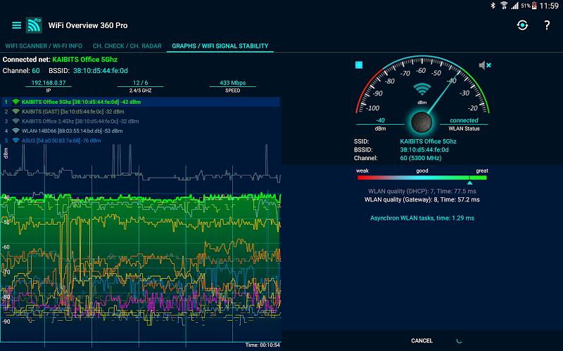 WiFi Overview 360 Pro Screenshot 10
