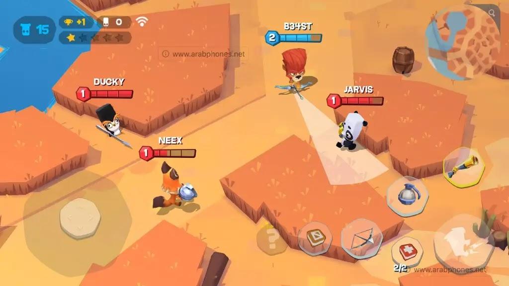 تحميل لعبة zooba مهكرة للاندرويد اخر اصدار