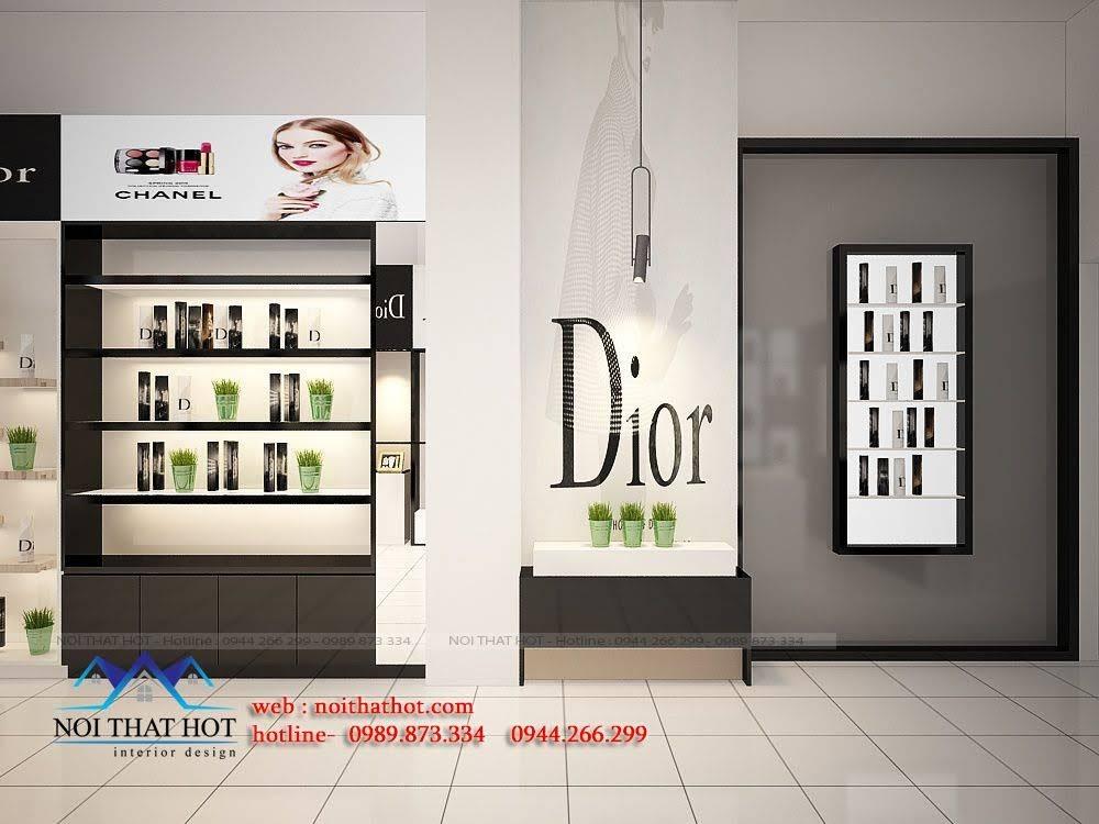 thiết kế shop mỹ phẩm châu âu 6