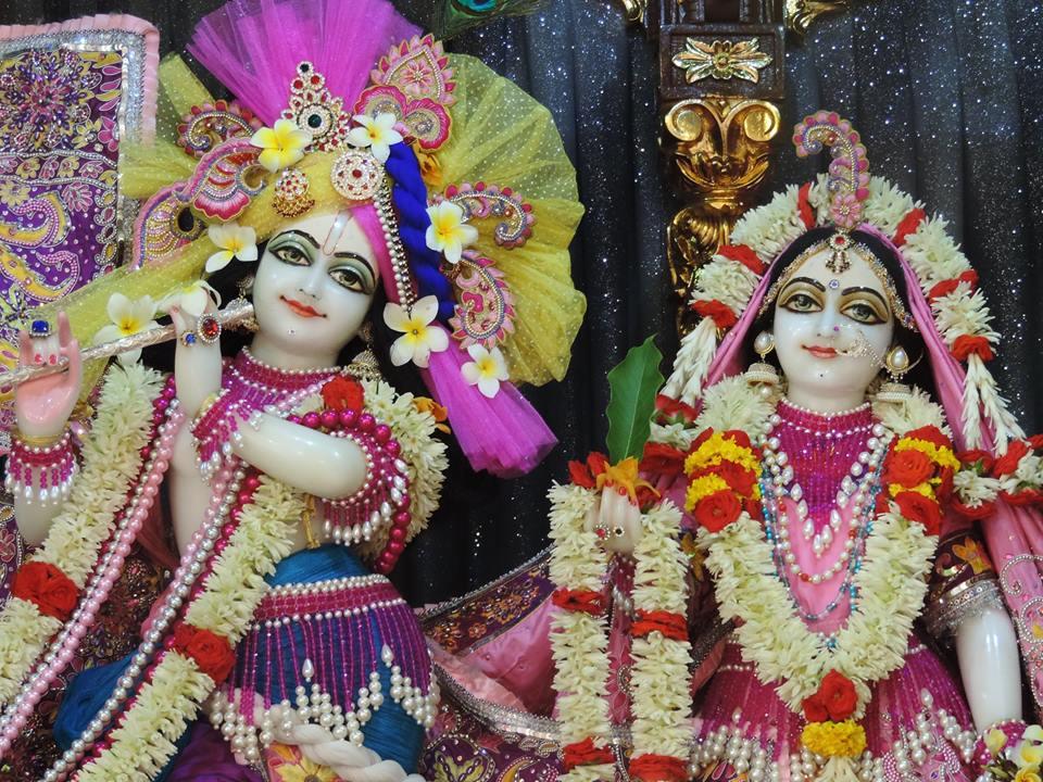 ISKCON Bangalore Deity Darshan 28 May 2016 (2)
