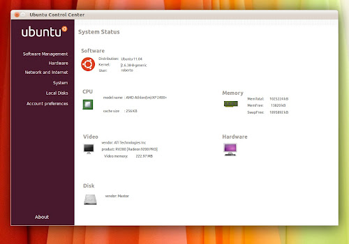 UCC Ubuntu Control Center