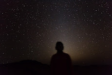 The night sky with the bright Zodiacal light