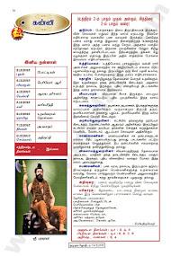 Kumudam Jothidam Raasi Palan - 2/12/2015 to 8/12/2015
