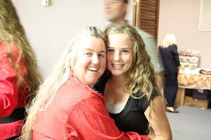 Ann with close friend, Danica.