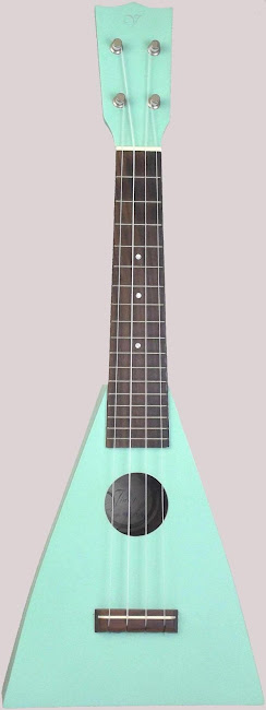 Vineyard Paddle triangle Soprano Ukulele