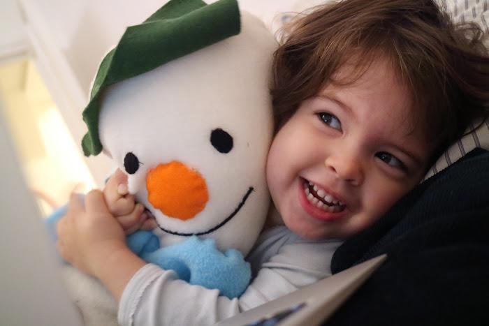 Snowman, children