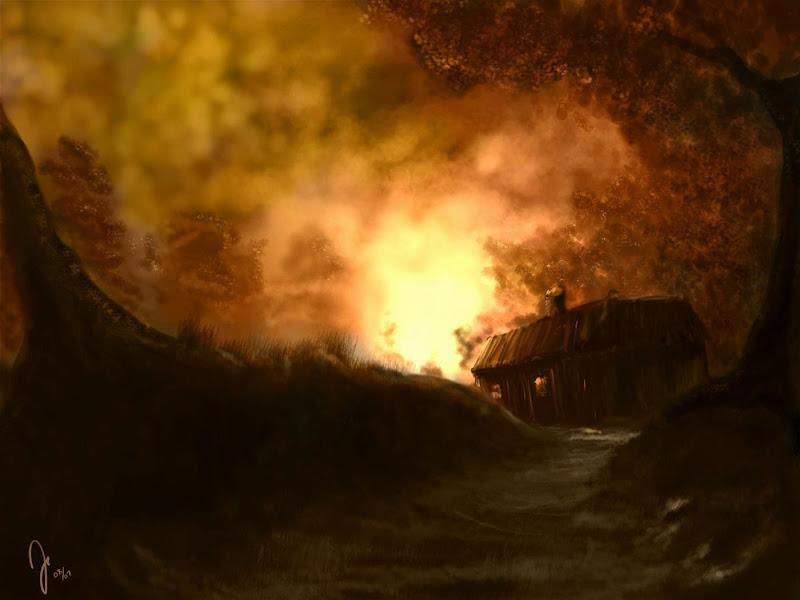 Nightmare Of Lands 28, Magical Landscapes 5