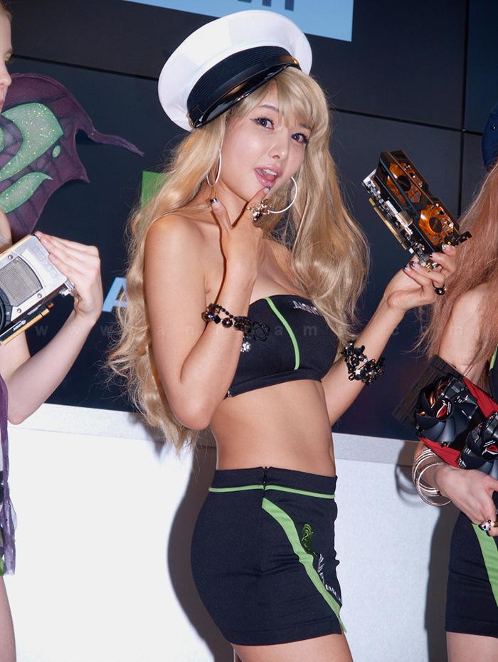 Showgirl G-star 2012: Cha Sun Hwa - Ảnh 18