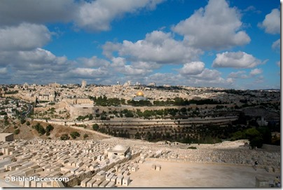 Jerusalem from Mount of Olives, tb092405392