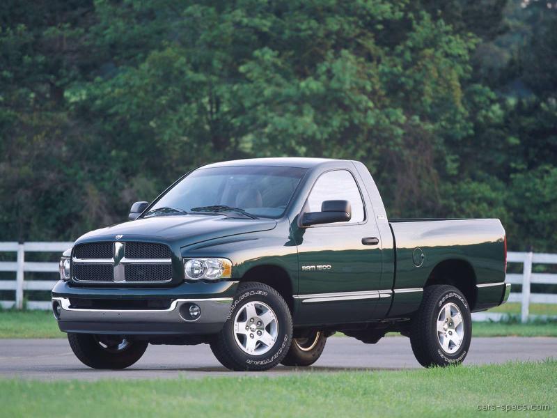 2004 Dodge Ram Pickup 3500 Diesel Specifications