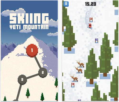 おすすめiPhoneゲームSkiing Yeti Mountain