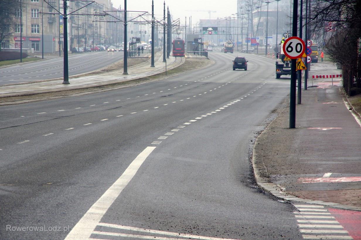 To się zmieni - 1 z 4 pasów dla aut zostanie przebudowany na drogę dla rowerów.