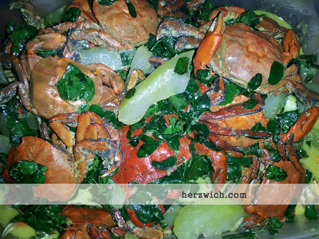 Crabs in Coconut Milk
