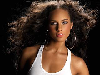 Free Desktop Hollywood Actress Wallpapers of Alicia Keys