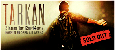 Tarkan sells out at the Harbiye