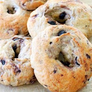 Blueberry Oat Bagels
