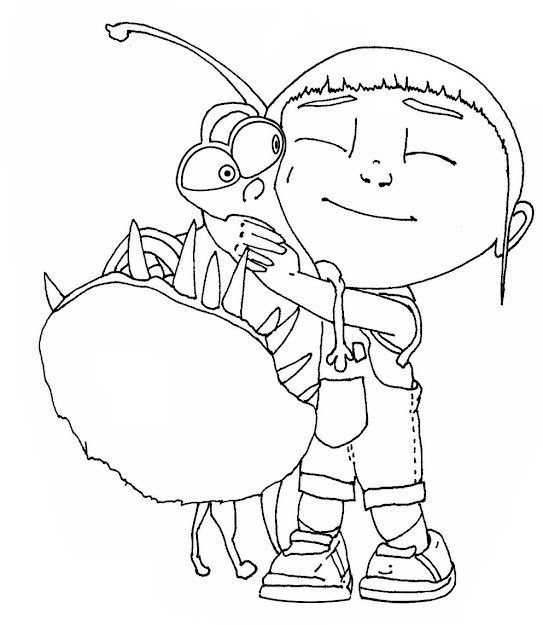 Free Minion Coloring Page For Children Free Printable Minion Coloring Pages  For Kids