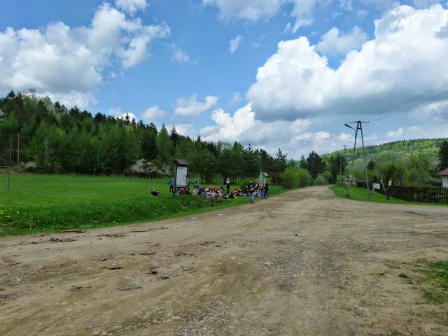 Zajęcia terenowe Źródliska Wisłoki - P1120832.JPG