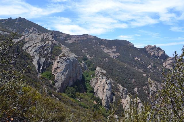 Boney Mountain and the western ridge