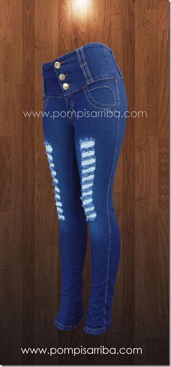 Jeans destruction - roto