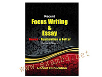 Recent Focus Writing & Essay - PDF Download