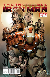 The Invincible Iron Man #500.1 - Comic of the Day