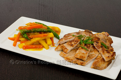 黃薑豬扒 Turmeric Pork Chops01
