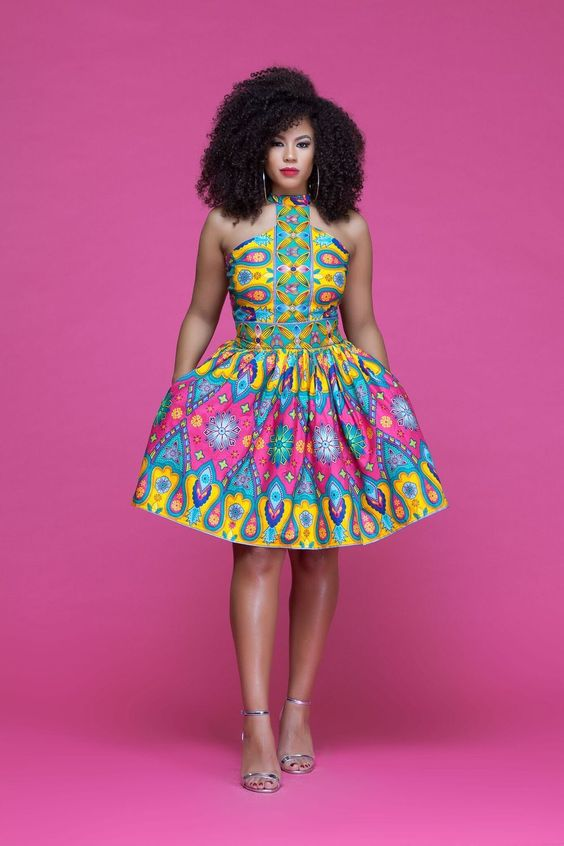 AFRICAN PRINT DRESSES STYLES FOR WOMAN 1