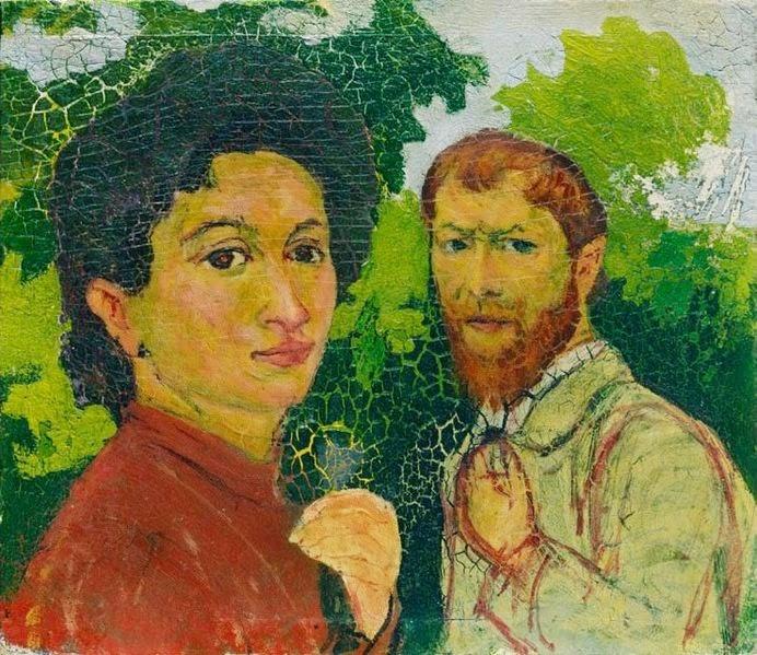 Giovanni Giacometti - Annetta and Giovanni Giacometti