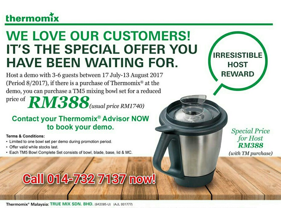 thermomix my recipe cheaper thermomix tm5 in malaysia. Black Bedroom Furniture Sets. Home Design Ideas