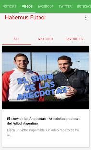 Habemus Fútbol - Noticias al instante - náhled