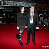 WWW.ENTSIMAGES.COM -  Guest    arriving at Flight UK Film Premier Empire Leicester Square London January 17th 2013                                                     Photo Mobis Photos/OIC 0203 174 1069