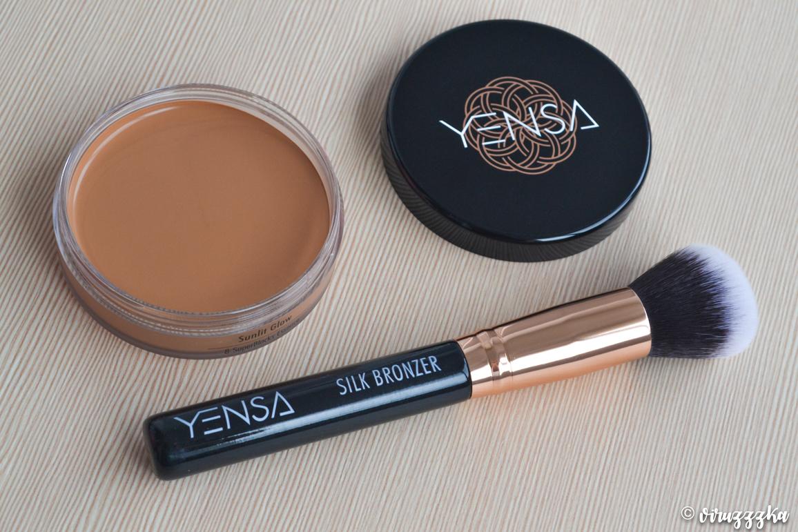 YENSA BEAUTY Silk Bronzing Base and Brush Review