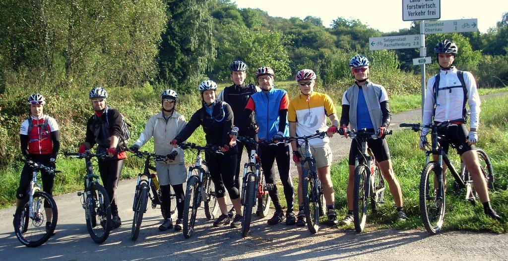 Spessart-Biker Tour am 14.09.2008