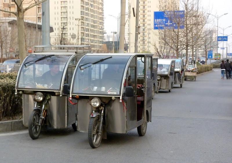 Mini taxi deux places