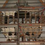 Orgel für Restaurierung eingerüstet - Fotos vom Februar 2009