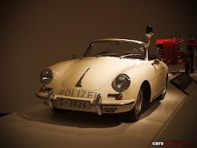 964 Porsche 356 C 1600 SC Cabriolet Polizei