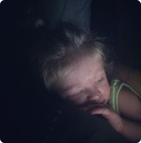 dear 24 month sleep regression: i kinda want to punch you in the face.