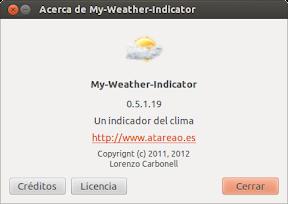 Unos vienen y otros se van ó My-Weather-Indicator 0.5.1.19