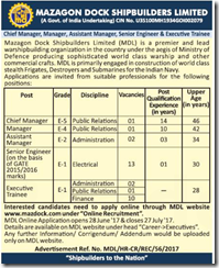 MDL Advertisement June 2017 www.indgovtjobs.in