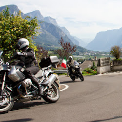 Motorradtour Manghenpass 17.09.12