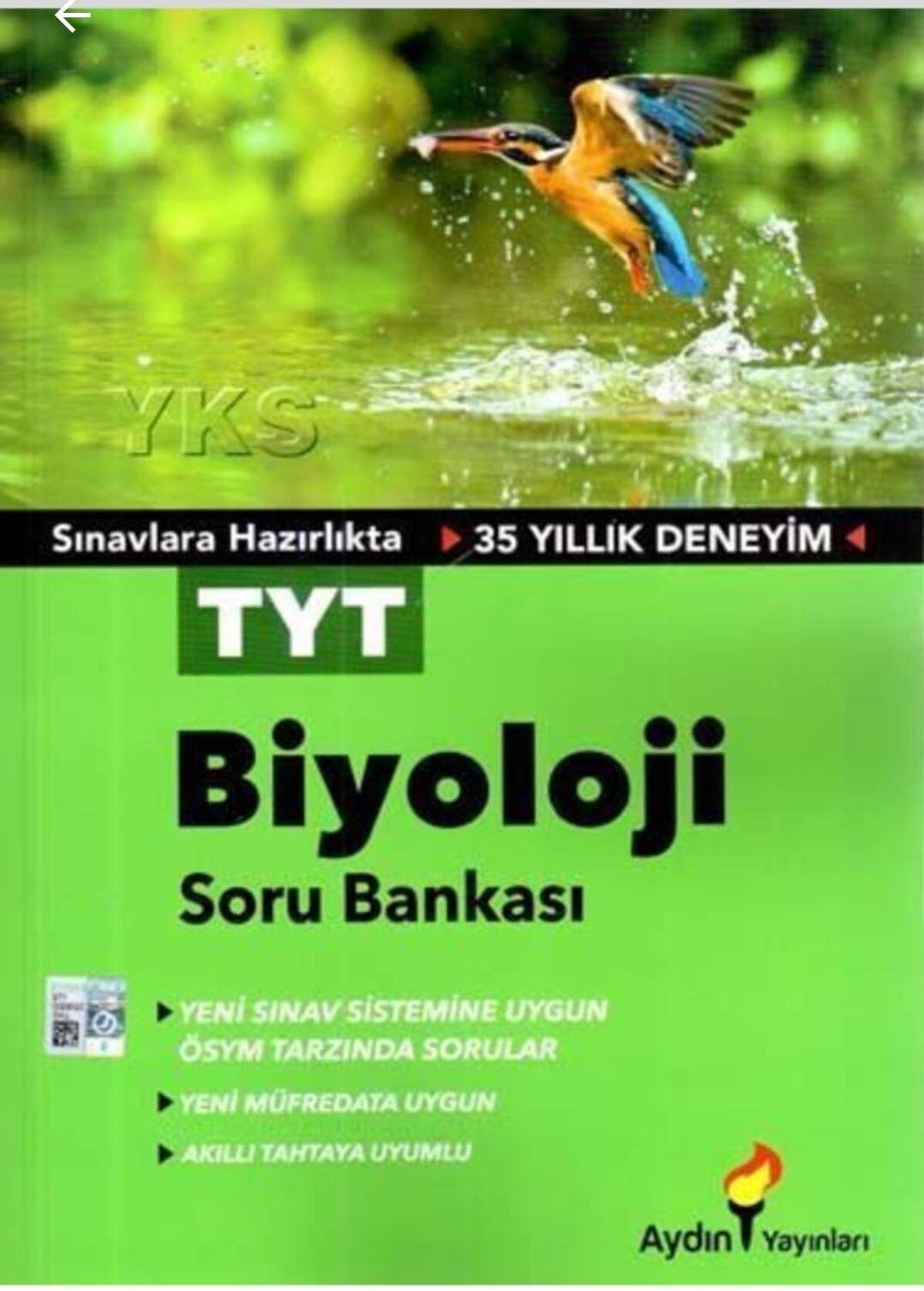 Aydın Yayınları - TYT Biyoloji - Soru Bankası