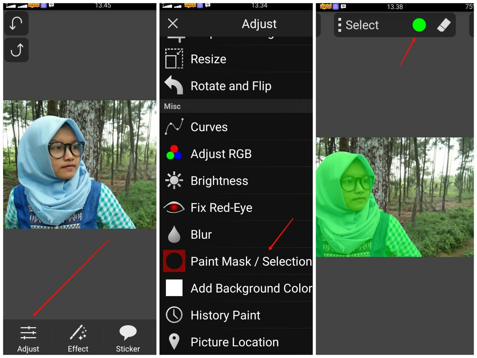 mentahan edit picsay pro